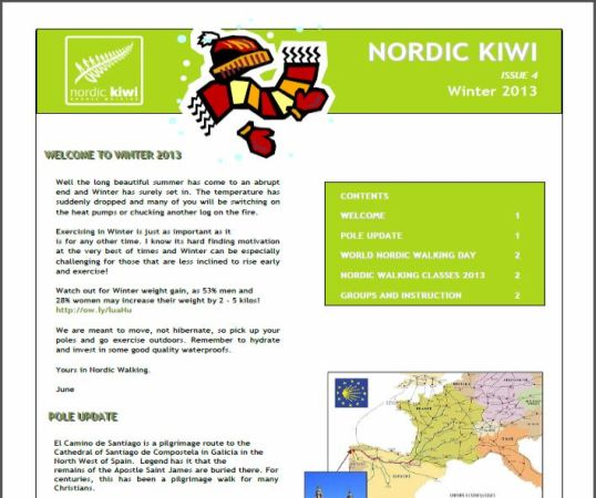 Nordic Walking Winter