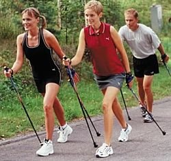 Uphill Nordic Walking 2 Opt